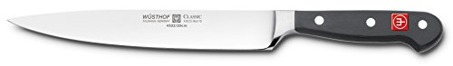 Wusthof 4522-7/20 CLASSIC Carving Knife, One Size, Black, Stainless Steel