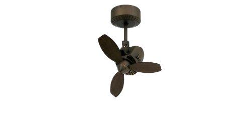 TroposAir Mustang 18' Oscillating Indoor/Outdoor Ceiling Fan in Rubbed Bronze