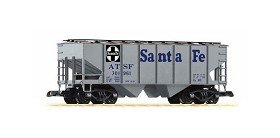 PIKO G SCALE MODEL TRAINS – SANTA FE COVERED HOPPER GRAY 301961 – 38835 21mjVhf8e8L