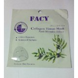 Product review for Detoxifying Facial Mask Collagen Tissue Mask Anti-Wrinkle Effect * 4 Packs.