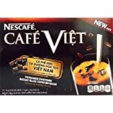 Nescafe Cafe Viet Vietnamese Sweetened Instant Black Coffee Beverage, 8.46 Oz.