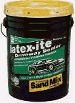 DALTON ENTERPRISES 42801 Latex-ITE Rubberized Sand Mix Driveway Coating, 5 Gal.