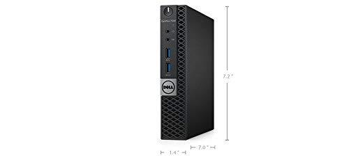 Dell Optiplex 9020 Ultra Small Tiny Desktop Micro Computer PC (Intel Core i3-4160T, 8GB Ram, 256GB Solid State SSD, WIFI, Bluetooth, HDMI) Win 10 Pro (Renewed)