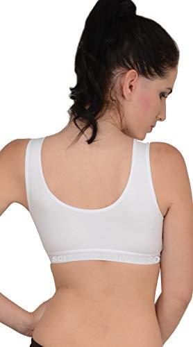 Softskin Women's Polyamide Sports Bra (Pack of 3)