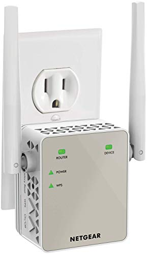 NETGEAR Performance WiFi Range Extender AC1200 Dual Band |Stronger, Faster, WiFi Connection up to 1.2 Gbps (EX6120)