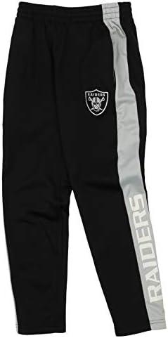 Outerstuff NFL Youth Boys (8-20) Side Stripe Slim Fit Performance Pant, Team Variation 1