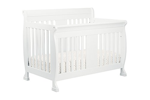 DaVinci Porter 4-in-1 Convertible Crib with Toddler Bed Conversion Kit, White