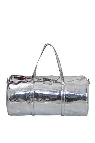 31+hPbnl0QL - Strutt Genuine Leatherette Glint Silver Magpie Tripper 24 Liters Duffel Bag for Travel for Men and Women