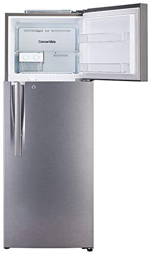 31 a VfKbkL - LG 335 L 3 Star Inverter Frost-Free Double Door Refrigerator (GL-T372JDS3, Dazzle Steel, Convertible)