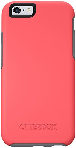 NEW OtterBox SYMMETRY SERIES Case for iPhone 6/6s (4.7' Version) - Retail Packaging - PREVAIL (CORAL/GUNMETAL GREY)