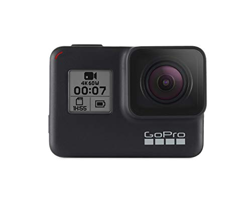 GoPro HERO7 Black — Waterproof Digital Action Camera with Touch Screen 4K HD Video 12MP Photos Live StreamingStabilization