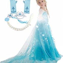 Frozen Inspired Dress (3-4 Years, 5-Piece Elsa)