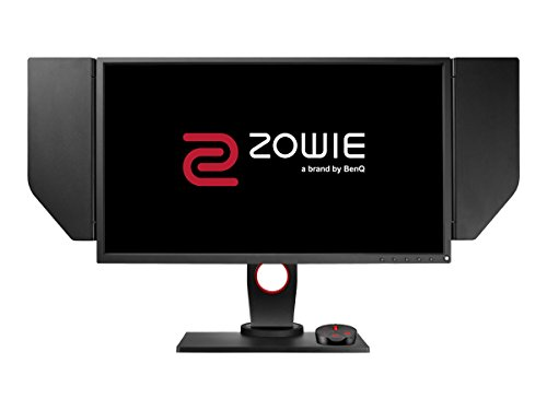 BenQ Zowie 24.5 inch 240Hz Esports Gaming Monitor, DyAc, 1080p, 1ms Response Time, Black Equalizer, Color Vibrance, S-Switch, Shield, Height Adjustable (XL2546)