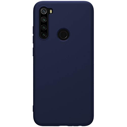 """Nillkin Case for Xiaomi Redmi Note 8 (6.3"""" Inch) Soft TPU Rubber Wrapped Protective Case Blue Color 1"""