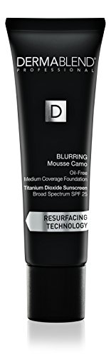 Dermablend Blurring Mousse Medium To Full Coverage Foundation Makeup With Spf 25, Oil-free, 12 Shades, 30n Sand, 1 Fl oz