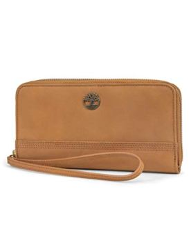 Timberland-Womens-Leather-RFID-Zip-Around-Wallet-Clutch-with-Wristlet-Strap