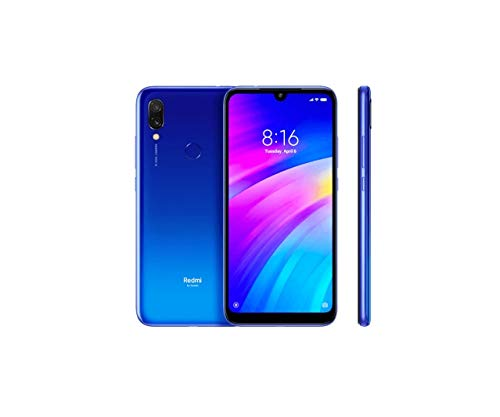 Xiaomi Redmi 7 64GB + 3GB RAM 6.26″ HD+ LTE Factory Unlocked GSM Smartphone (Global Version) (Comet Blue)