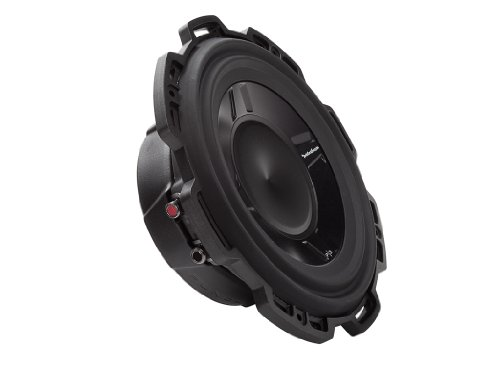 3. Rockford Fosgate P3SD4 – 10 Punch P3S 10 – Inch 4 – Ohm DVC Shallow Subwoofer