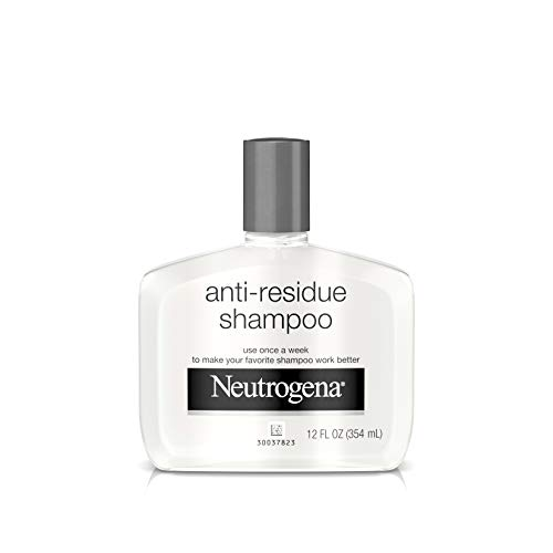 Neutrogena Anti-Residue Shampoo, Gentle Non-Irritating Clarifying Shampoo to Remove Hair Build-Up & Residue, 12 fl. oz