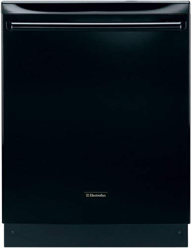 Electrolux EIDW6105GB 24' Built-In Dishwasher with IQ-Touch Controls and Luxury-Quiet, Black (Renewed)