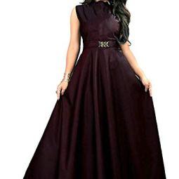 vaidehi creation Silk a-line Dress Material