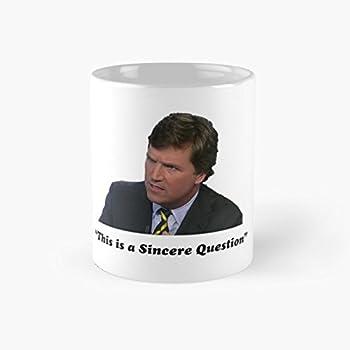 Amazon.com: gocontigo - Tucker Carlson #16 Mug 11 Oz White ...