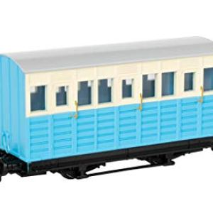 Thomas & Friends Narrow Gauge Blue Carriage – Runs on N Scale Track 312kTKdlDmL