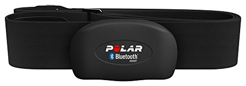 Polar H7 Bluetooth Heart Rate Sensor & Fitness Tracker (Black, Medium/XX-Large)
