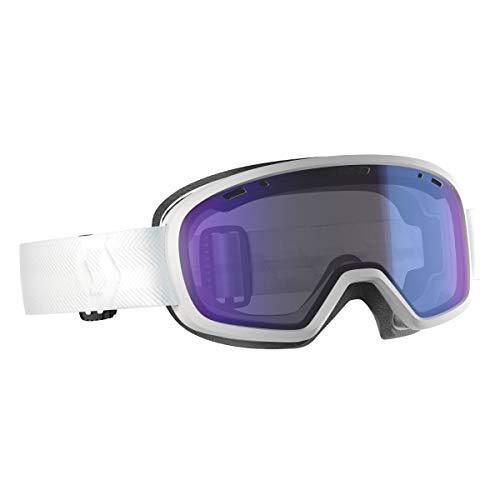 Scott Muse Pro OTG Snow Goggle (White/Illuminator Blue Chrome)