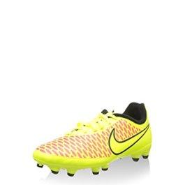 Nike Magista Onda FG Junior Soccer Boots, Fluo Yellow/Black, US4.5