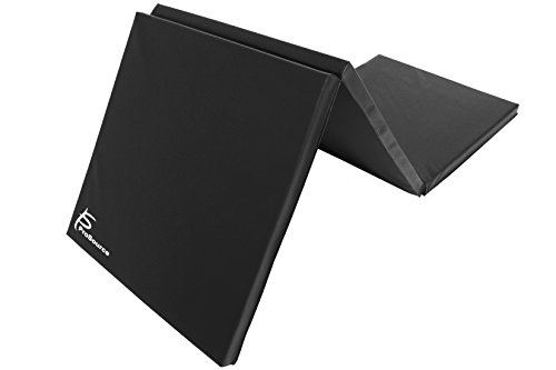 ProSource Tri-Fold Folding Exercise, Black