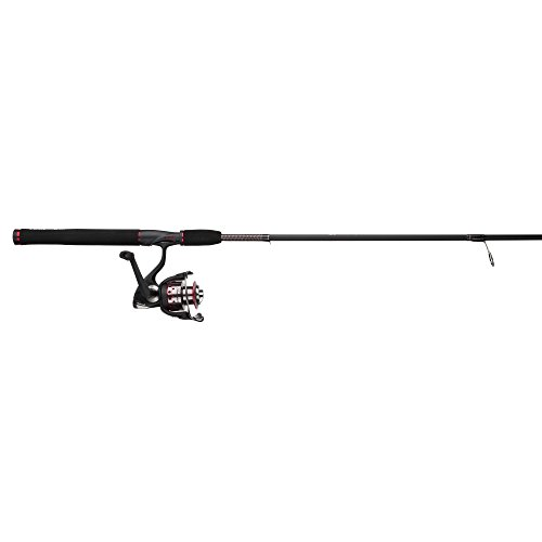 Shakespeare USSP662M/35CBO Ugly Stik GX2 2-Piece Fishing Rod and Spinning Reel Combo, 6 Feet 6 Inch, Medium Power
