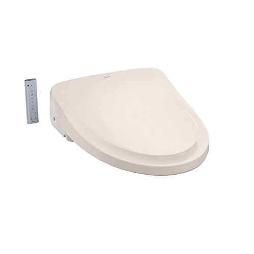 TOTO SW3054#12 S550e WASHLET Electronic Bidet Toilet Seat with EWATER+ and Auto Open and Close Classic Lid, Elongated, Sedona Beige