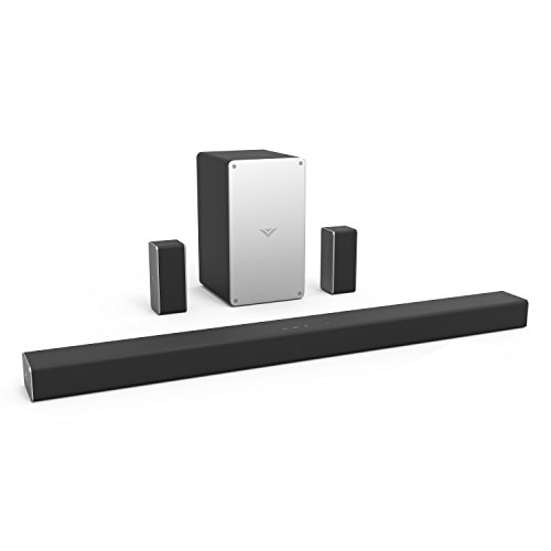 VIZIO SB3651-F6 36' 5.1 Home Theater Sound Bar System, Black