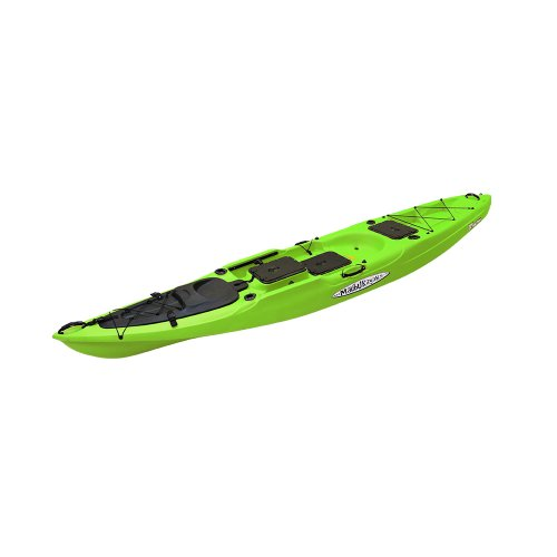 Malibu Kayaks X-Factor Fish and Dive Package Sit on Top Kayak, Lime