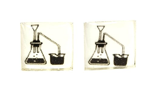 Laboratory Science Cufflinks, Laboratory Cufflinks, Chemistry Cufflinks