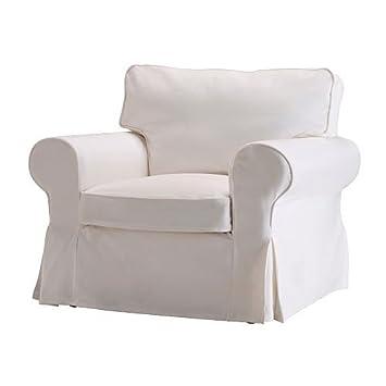 Ikea Ektorp Housse De Fauteuil Blekinge Blanc Amazonfr