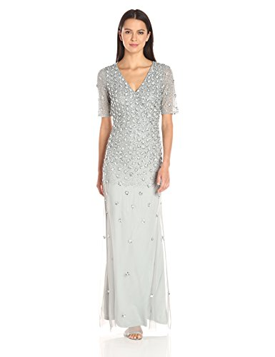 3152cQRXkjL 3/4 sleeve Gown