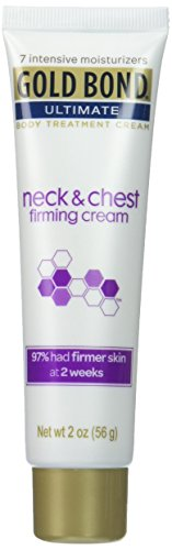 Gold Bond Ultimate Neck & Chest Firming Cream 2 Ounce Moisturizing Lotion With Salicylic Acid, Lasting Hydration, Helps Firm Neck and Chest Skin and Prevent Signs of Premature Aging