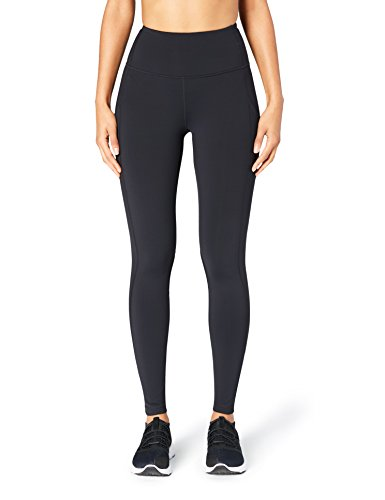 315CH0fCJPL High-waisted legging featuring side panel pockets, powermesh panels behind the knee, reflective accents and zipper detail at hem Exclusive Core 10 Onstride fabric: soft, moisture-wicking, medium weight fabric that hugs your body with 4-way stretch and is ideal for all seasons Waist is equipped with internal draw cord and back zipper pocket with two compartments that provide key and smartphone storage