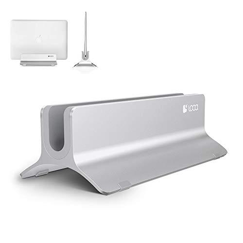 Vertical Laptop Stand, LOCA Aluminium...