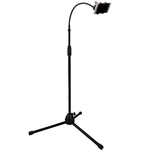 Kufox Retractable Adjustable Cell Phone Tripod Stand Holder, Smartphone Holder Mount,360 Degree Rotatable Telescopic Tripod