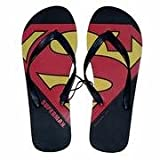 Superman Flip-Flops Medium (Mens 10/11) (Large (10/11))