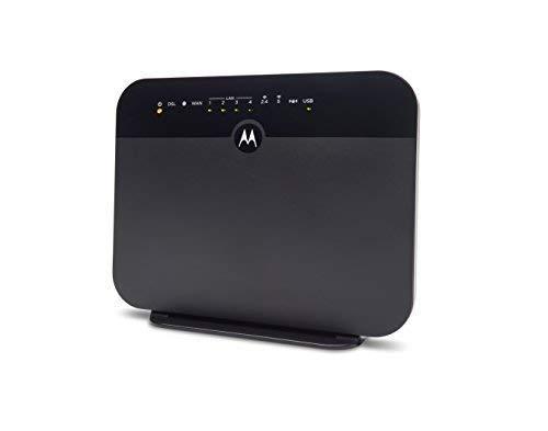 MOTOROLA VDSL2/ADSL2+ Modem + WiFi AC1600 Gigabit Router, Model MD1600, for Non-Bonded DSL from CenturyLink, Frontier, and Some Other DSL Providers