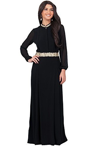 61arw7UE9aL PLUS SIZE - This great maxi dress design is also available in plus sizes STYLE - Comfortable and well-fitted long sleeved maxi dresses that can be dressed up or down to suit your mood OCCASION - Perfect casual maxi dresses with sleeves or understated chic long sleeved gowns