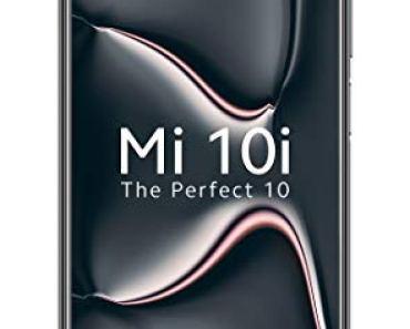 Mi 10i 5G (Midnight Black, 8GB RAM, 128GB Storage) – 108MP Quad Camera   Snapdragon 750G Processor   Upto 6 Months No Cost EMI