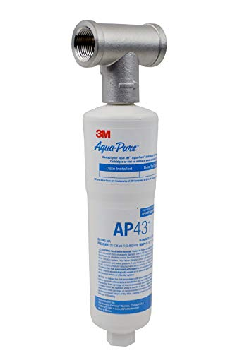 3M Aqua-Pure Whole House Scale Inhibition Inline Water System AP430SS,...