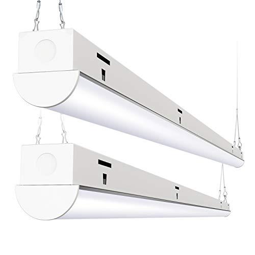Freelicht-8FT-LED-Shop-Light-110W-14400Lumen-5000K-Daylight-Plug-in-Shop-Light-Fixture-for-Garage-Workshop-Warehouse-Not-Dimmable-ETL-Certified-2-Pack