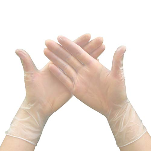 Haxikocty-Protective-Gloves-Disposable-Rubber-Powder-Free-PVC-Transparent-Cleaning-Health-Gloves-100PCSBox