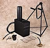Official US Military Hunter Tent Camping Arctic Portable Space Heater Gas Coal Wood Stove